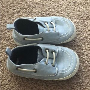 Gymboree 18 months soft loafers blue